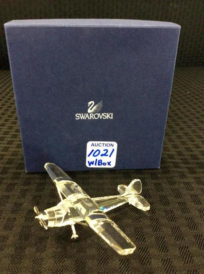 Swarovski Airplane in Original Box