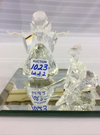 Lot of 2 Swarovski Figurines Including
