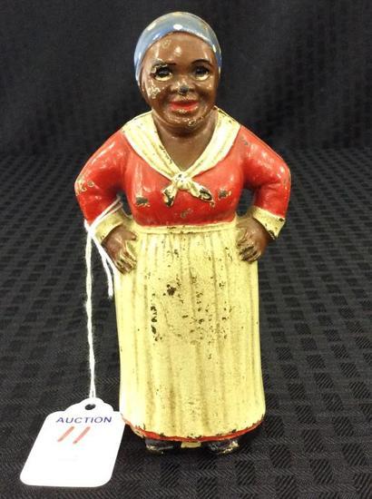 Sm. Iron Black Memorabilia Aunt Jemina Bank