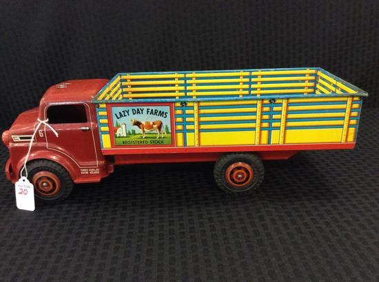 Lumar Lazy Day Farms Metal Toy Truck