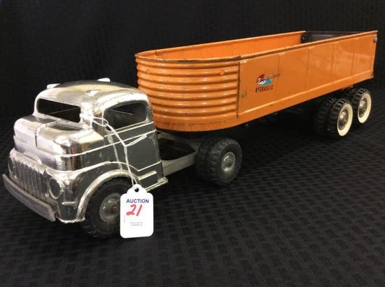Structo Hydraulic Metal Toy Dump Truck