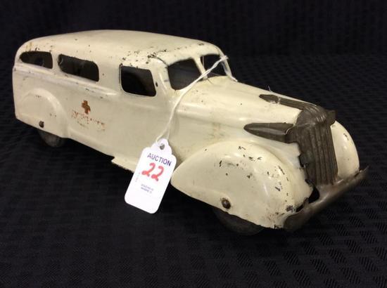 Wyandotte Metal Toy Ambulance