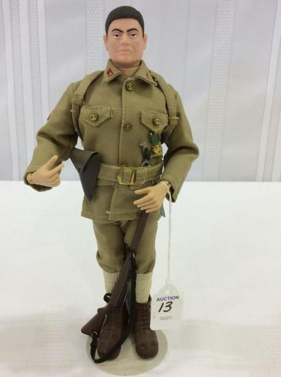 Vintage 1964 GI Joe Japanese Soldier Figure