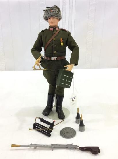 Vintage 1964 GI Joe Russian Soldier Figure
