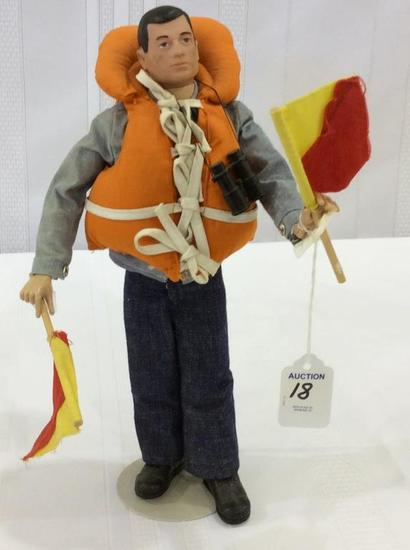 Vintage 1964 GI Joe Navy Attack Figure