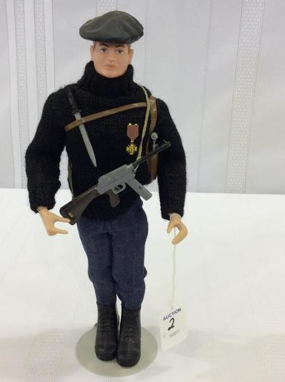 Vintage 1964 GI Joe French Resistance Fighter
