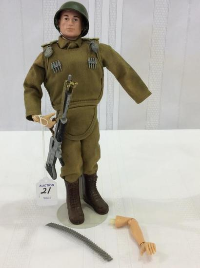 Vintage 1964 GI Joe Military Figure