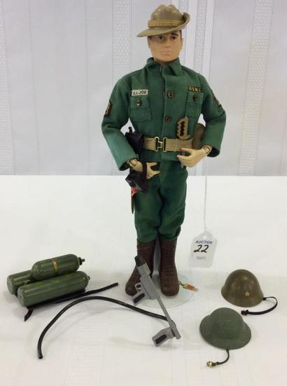 Vintage 1964 GI Joe Jungle Fighter Figure