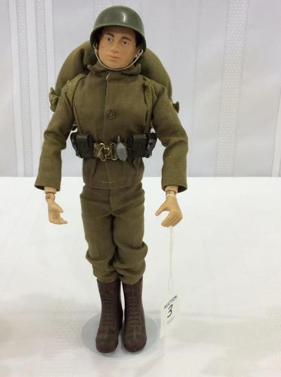 Vintage 1964 GI Joe Action Soldier Figure