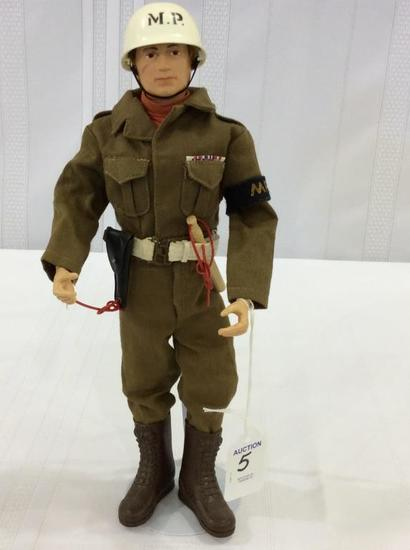 Vintage 1964 GI Joe Military Police Figure