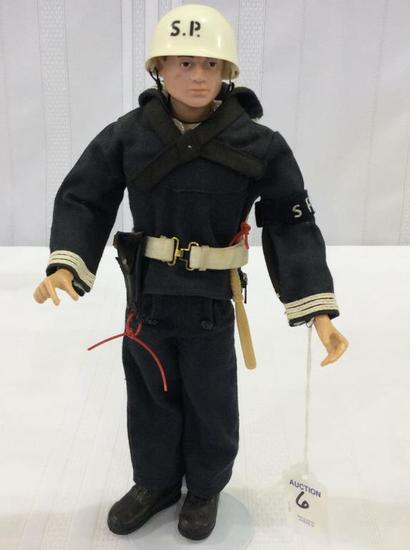 Vintage 1964 GI Joe Shore Patrol Figure