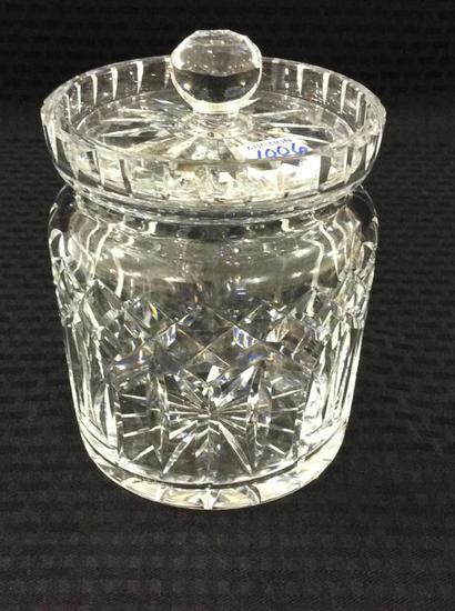 Waterford Crystal Biscuit Jar w/ Lid