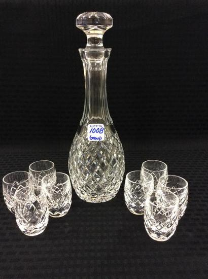 Waterford Crystal Decanter w/ Stopper