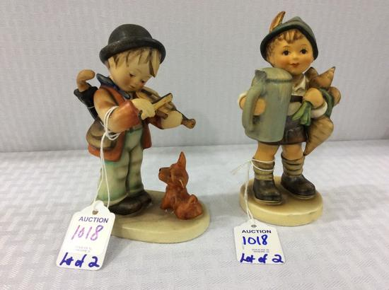 Lot of 2 Goebel Hummel Figurines Including