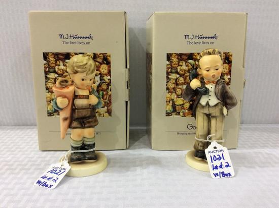 Lot of 2 Goebel Hummel Figurines w/ Boxes