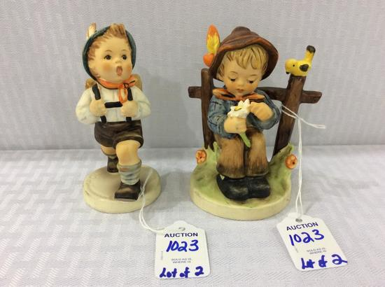 Lot of 2 Germany Goebel Hummel Figurines Including