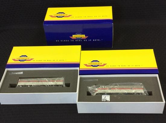 Genesis HO Scale Locomotive Set-NIB Including