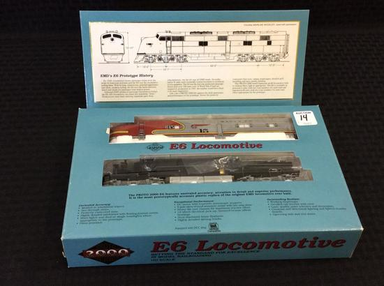 Proto 2000 Series Ho Scale E6 Locomotive-