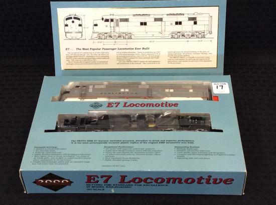 Proto 2000 Series HO Scale E7 Locomotive-NIB