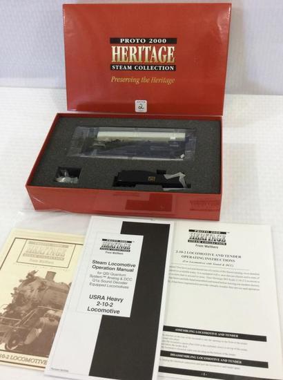 Proto 2000 Heritage  HO Scale Scale Steam