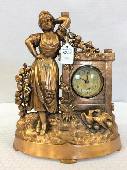 Ornamental Metal Copper Figurial Women Design
