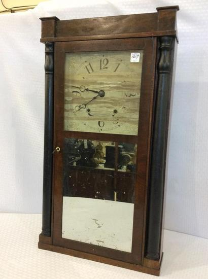 Weighted Keywind Clock w/ Mirror Tablet