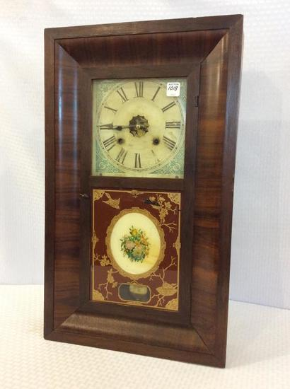 Ansonia Weighted Keywind Clock