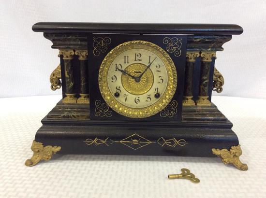 Keywind Ingraham Mantle Clock