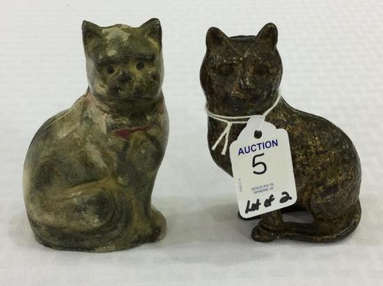 2 Iron Kitten Banks