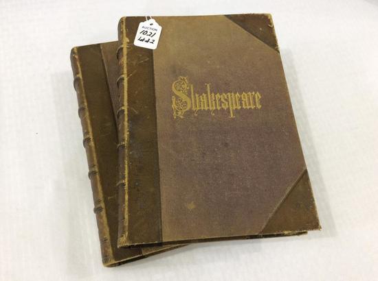 Lot of 2 Shakespeare Books