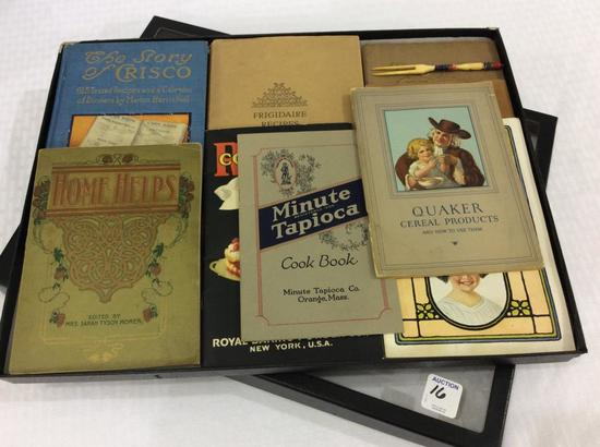 Group of Recipe Booklets