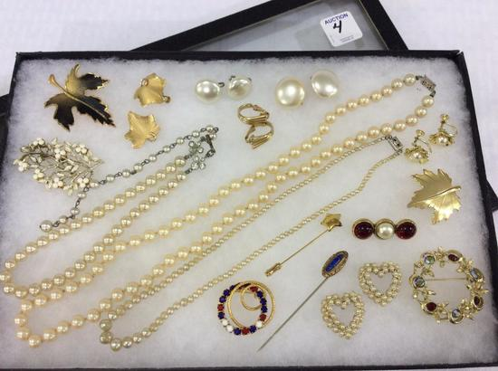 Collection of Ladies Costume Jewelry