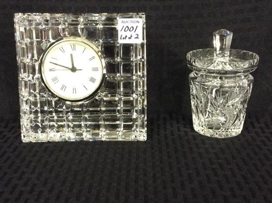 Lot of 2 Waterford Crystal Pieces Including