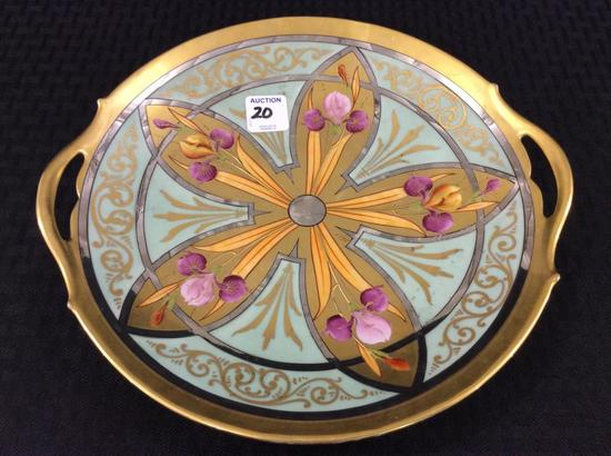 Pickard Cut Out Handle Cake Plate