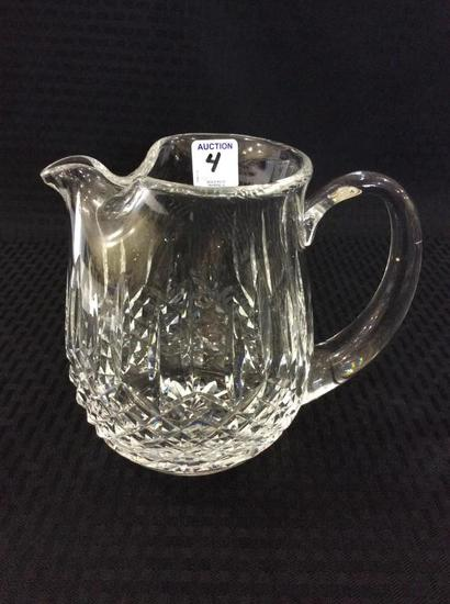 Waterford Cut Crystal Ice Lip Pitcher