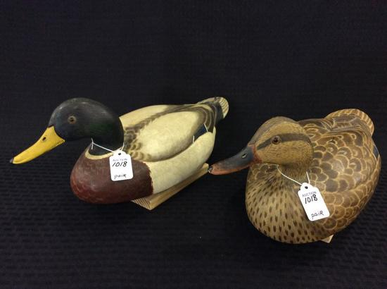 Pair of Mallards by Donna Tonelli-1972