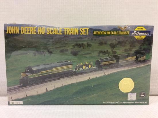 Un-Opened John Deere Ho Scale Train Set