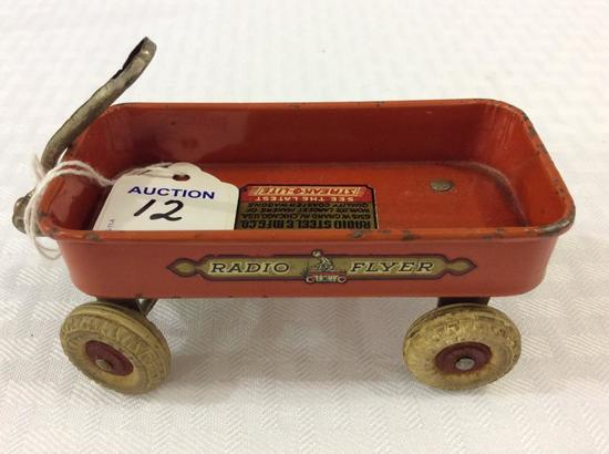 Miniature Vintage Radio Flyer Wagon-