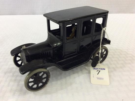 Vintage Germany Tin Toy Car w/ Driver