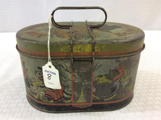 Vintage Mickey Mouse Tin Lunch Kit by Handy