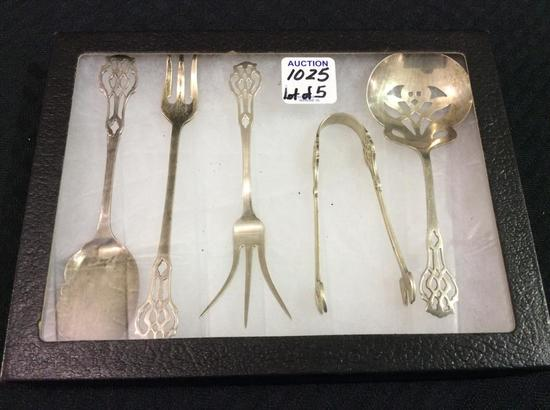 Lot of 5 Sm. Matching Sterling Silver Flatware