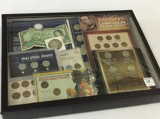 Collection of Coins Including United States
