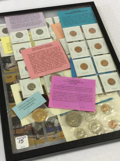 Collection of Coins Including