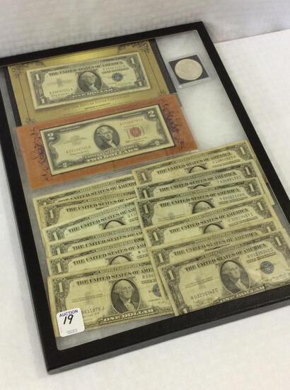 Collection Including 1921 Morgan  Silver Dollar,