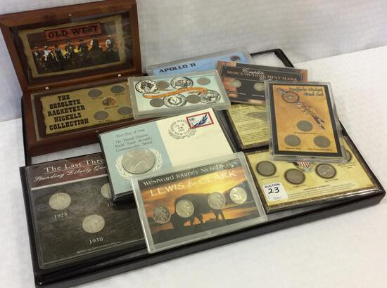 Collection of Coin Sets Including