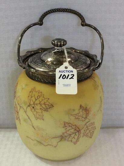 Crown Milano Biscuit Jar w/ Lid & Handle