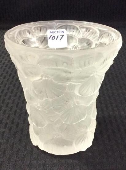 Verlys Vase w/ Floral Design