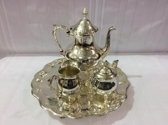 Sheridan SIlver Plate Coffee Set