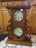 Waterbury Keywind Calendar Clock