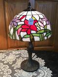 Contemp. Metal Base Lamp w/